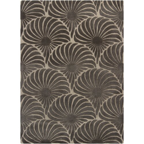 Chandra Rugs Reena Brown Floral Area Rug