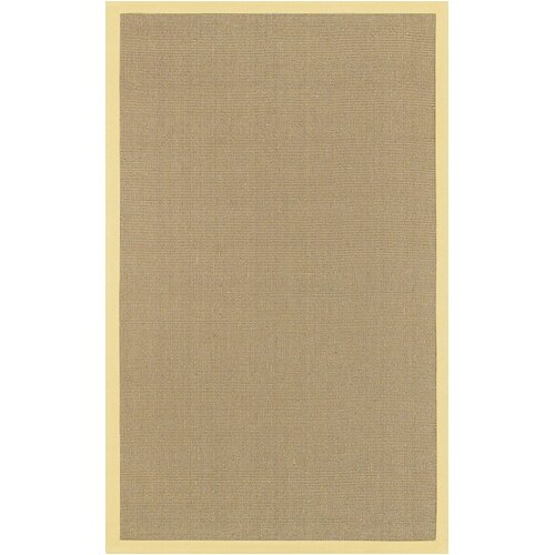 Chandra Rugs Bay Yellow Rug