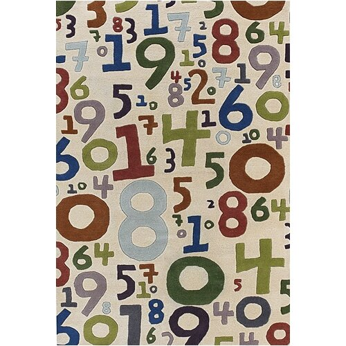 Chandra Rugs Kids Number Kids Rug
