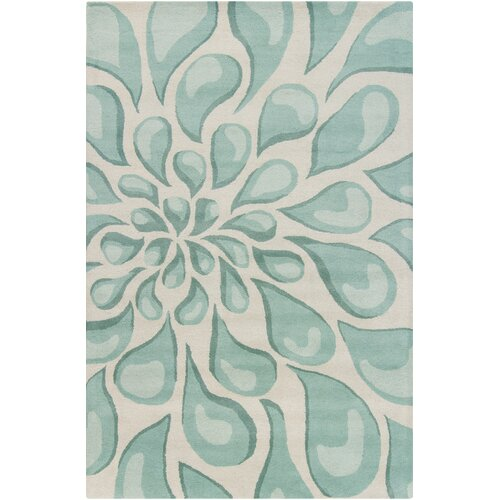 Stella Collection Hand Tufted Area Rug In Beige Light: Chandra Rugs Stella Patterned Contemporary Wool Beige