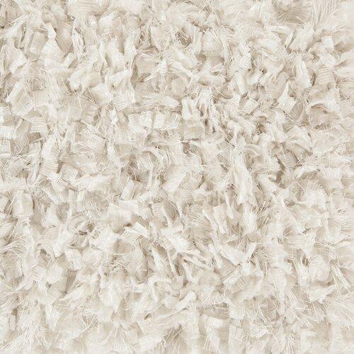Chandra Rugs Bolero Textured Contemporary Shag White Area Rug