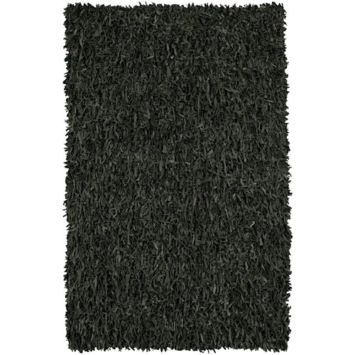 Chandra Rugs Art Black Rug