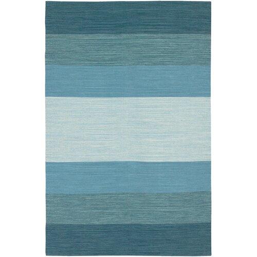 Chandra Rugs India Blue Striped Rug