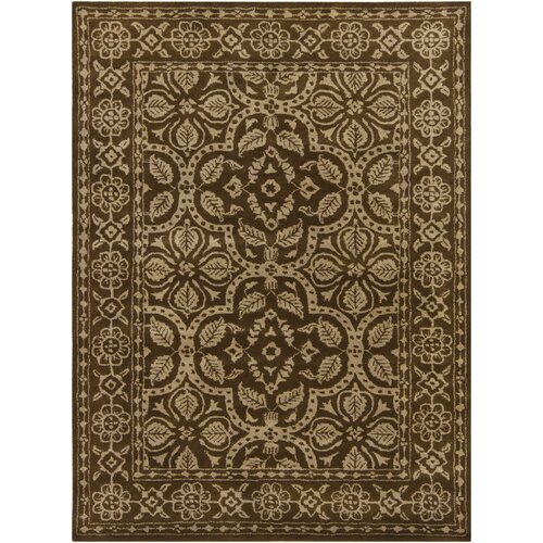Chandra Rugs INT Floral Border Rug