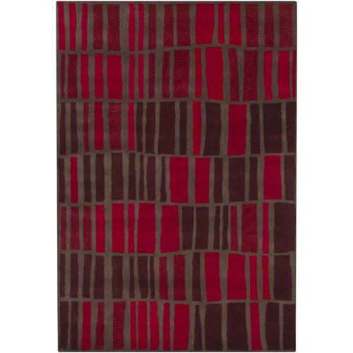 Chandra Rugs Gagan Red Rug