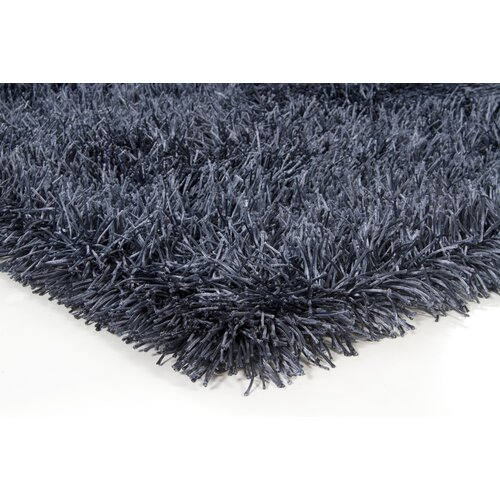 Chandra Rugs Poligan Shag Navy Rug
