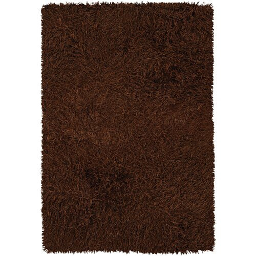 Poligan Shag Rust Rug