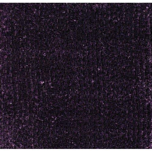 Dark Purple Rugs: Sara Shag Dark Purple Area Rug