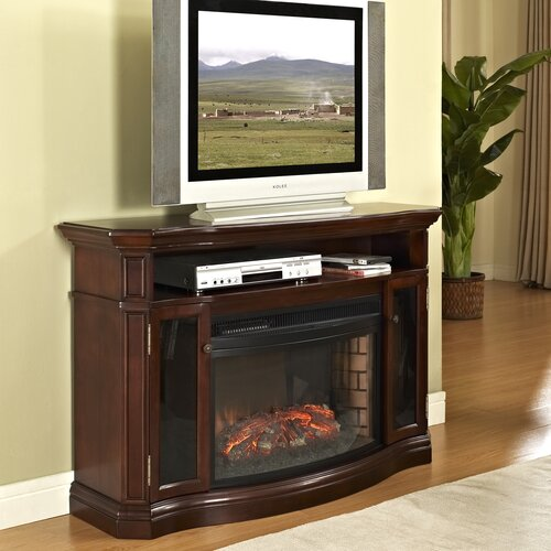 Elliot Media Mantel Electric Fireplace