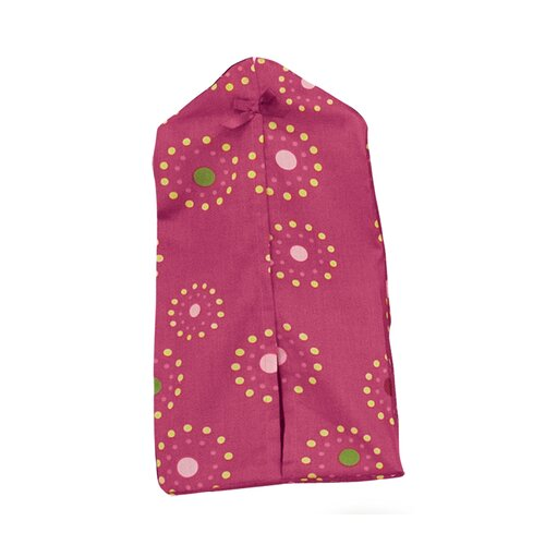 Pink Butterfly Diaper Stacker