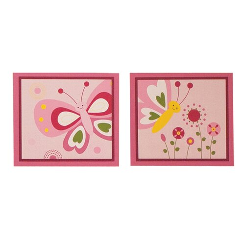 Bedtime Originals Pink Butterfly Wall Decal