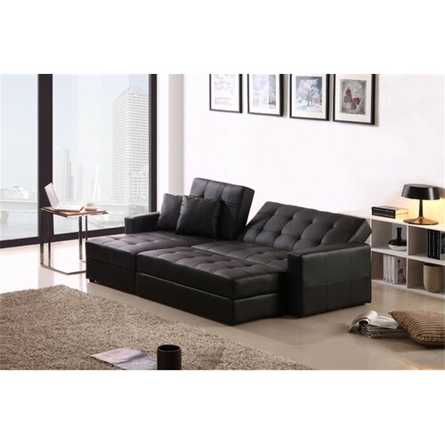 Corner sofa bed ottoman and 2 pillow wayfair australia for Sofa bed australia