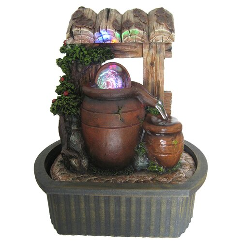 EwaterFeatures Vivid Water Hut Fountain