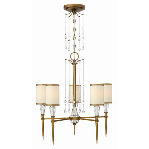 Fredrick Ramond Bentley 5 Light Chandelier