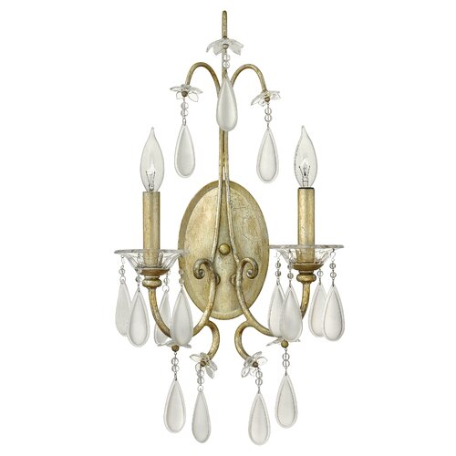 Fredrick Ramond Francesca 2 Light Wall Sconce