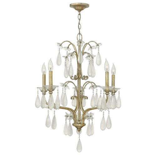 Fredrick Ramond Francesca 5 Light Chandelier