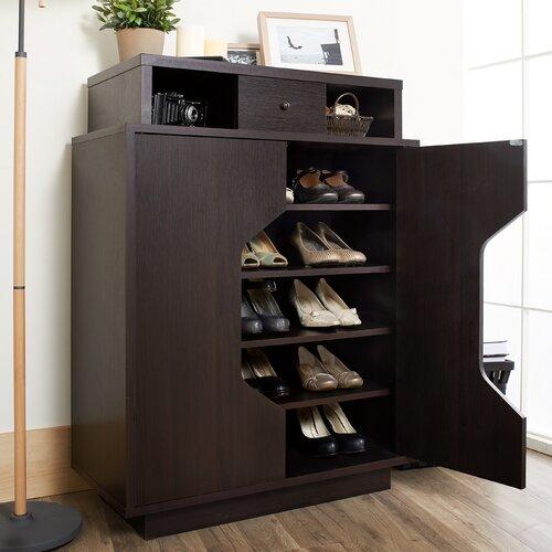 Hokku Designs Rupee Shoe Cabinet Reviews Wayfair