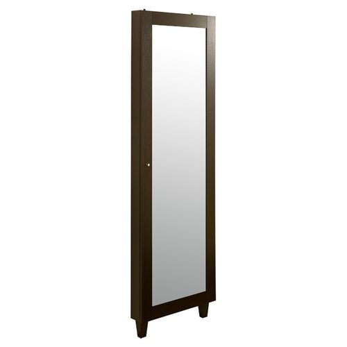 With Full Length Wall Mirror Storage : Full Length Armoire  Wayfair