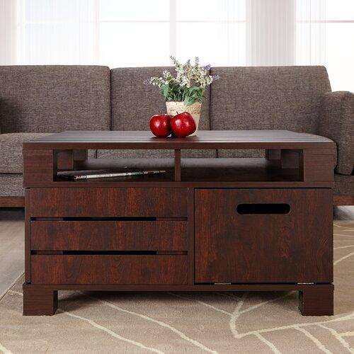 Hokku Designs Pallet Coffee Table Reviews Wayfair