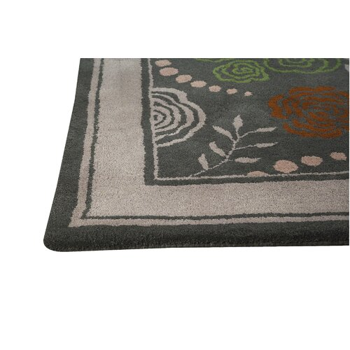 Hokku Designs Toronto Grey Rug