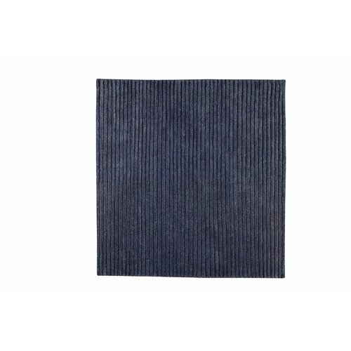 Hokku Designs Division Grey Rug