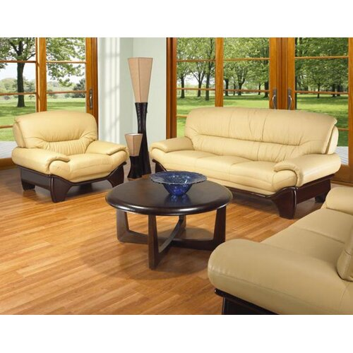 BM 3 Piece Leather Sofa Set