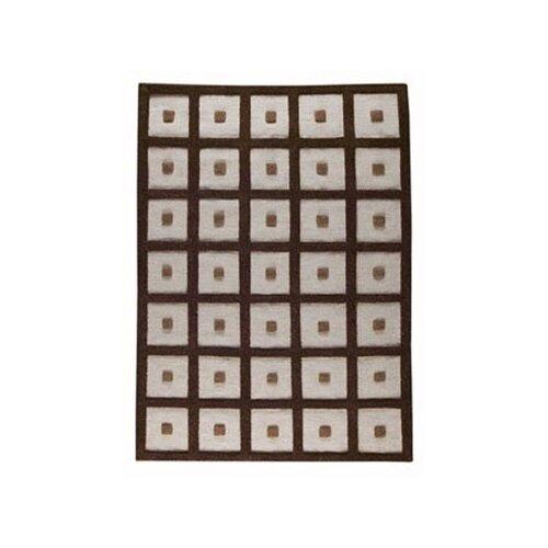 Hokku Designs Frame Brown Rug