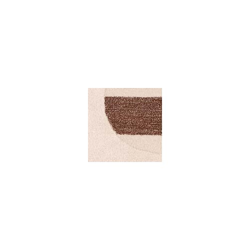 Hokku Designs Horizon White/Brown Rug