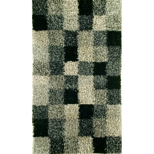 Madrian Grey Shag Rug