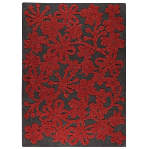 Hokku Designs Marigold Dark Grey Rug