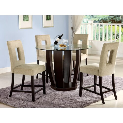 Hokku Designs Catina 5 Piece Counter Height Dining Set