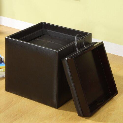 Hokku Designs Littleton Cube Ottoman