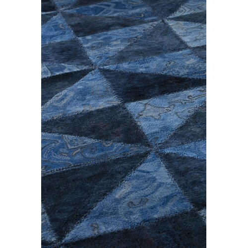 Hokku Designs Tile Viviana Blue / Turquoise Rug