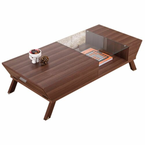hokku designs brody coffee table reviews wayfair. Black Bedroom Furniture Sets. Home Design Ideas