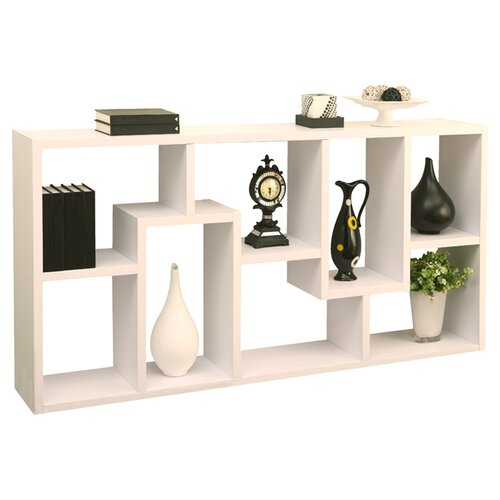 Hokku designs mindy 71 unique bookcase reviews wayfair supply - Libreros de madera modernos ...