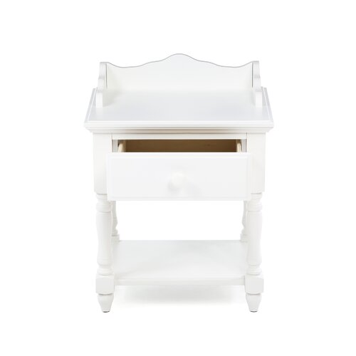 Hokku Designs Kylie 1 Drawer Nightstand