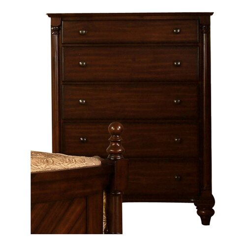 Hokku Designs Dean 5 Drawer Chest