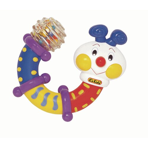 K's Kids Twisting Inchworm Rattle