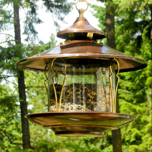 H. Potter Northern Garden Gazebo Bird Feeder
