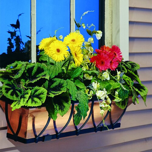 H. Potter Sleek Window Box Planter