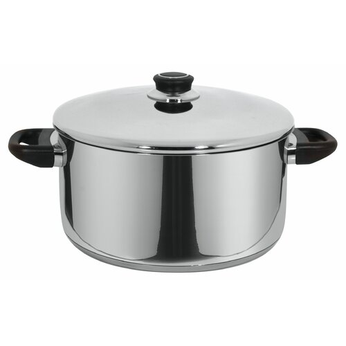 Royal Stainless Steel Round Casserole