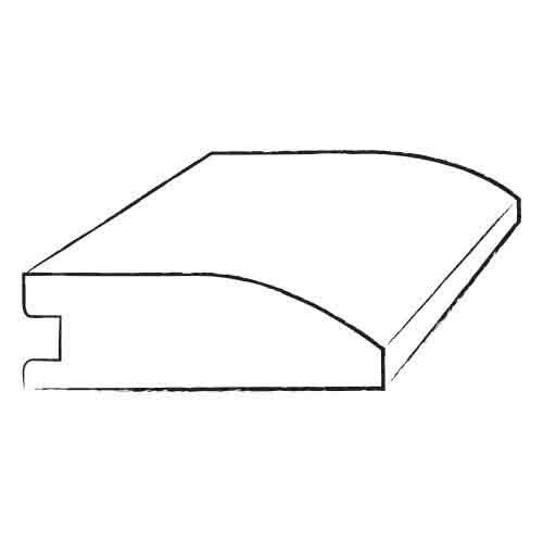 "Shaw Floors 0.5"" x 1.75"" Laminate Reducer in Portland Maple"