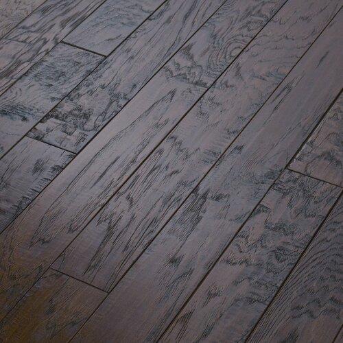 "Shaw Floors Epic Pebble Hill 3-1/4"" Engineered Hickory Flooring in Burnt Barnboard"