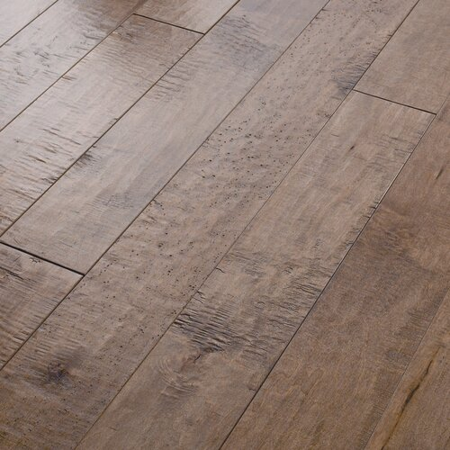 Autumn ridge 5 engineered handscraped maple flooring in for Flooring maple ridge
