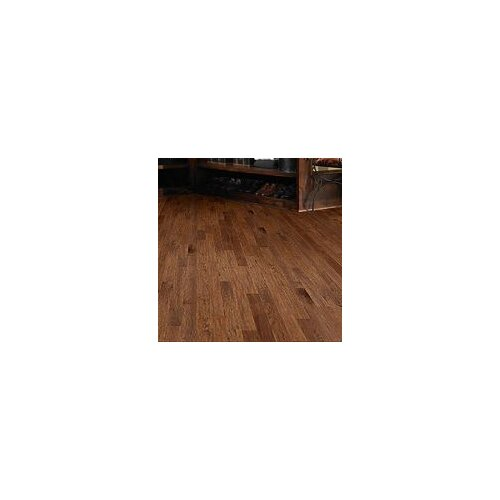 "Shaw Floors Panorama 6-3/8"" Engineered Handscraped Hickory Flooring in Majestic View"