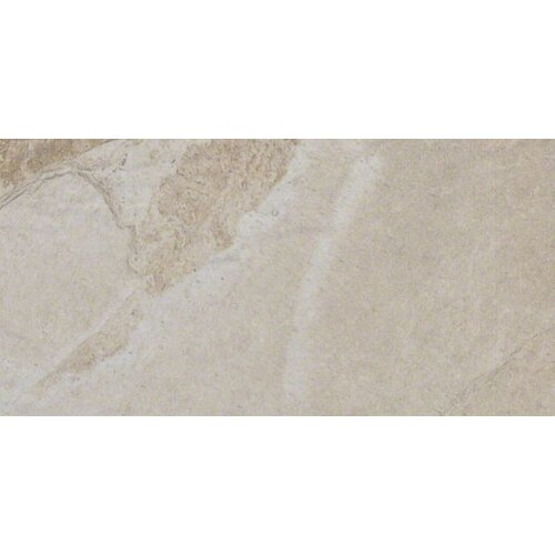 "Shaw Floors Metropolitan Slate 12"" x 6"" Cove Base Tile Trim in Silver Lake"