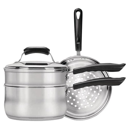 Range Kleen Stainless Steel 4-Piece Cookware Set