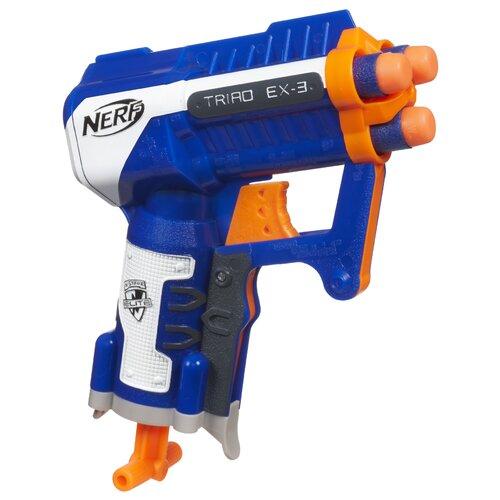 Hasbro Nerf N Strike Elite Triad EX-3 Blaster