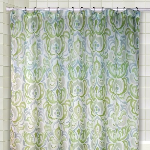 Circus Shower Curtain and Valance Set