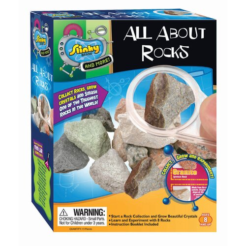 Slinky Science and Activity Kits All About Rocks